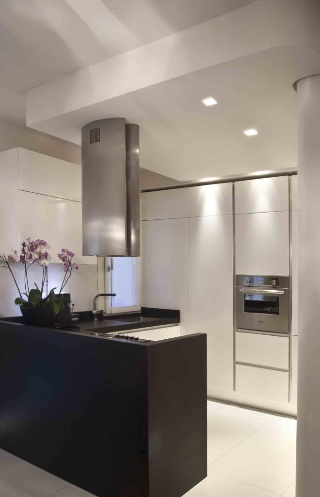 the white home- particolare cucina