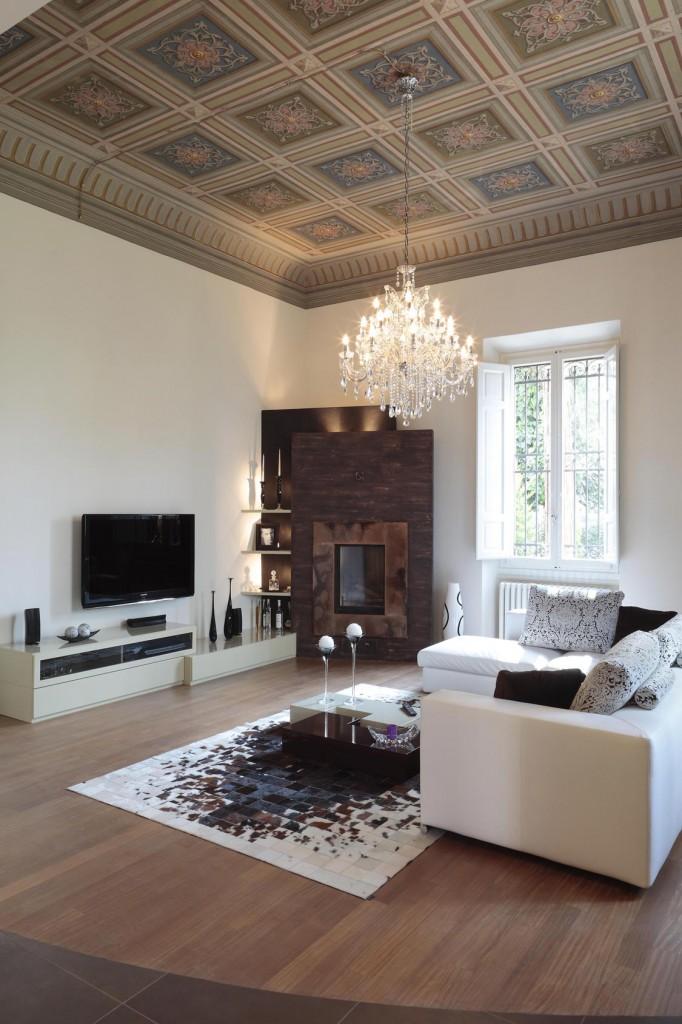 villa fiorentina - il soggiorno