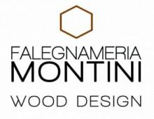 Montini wood design logo