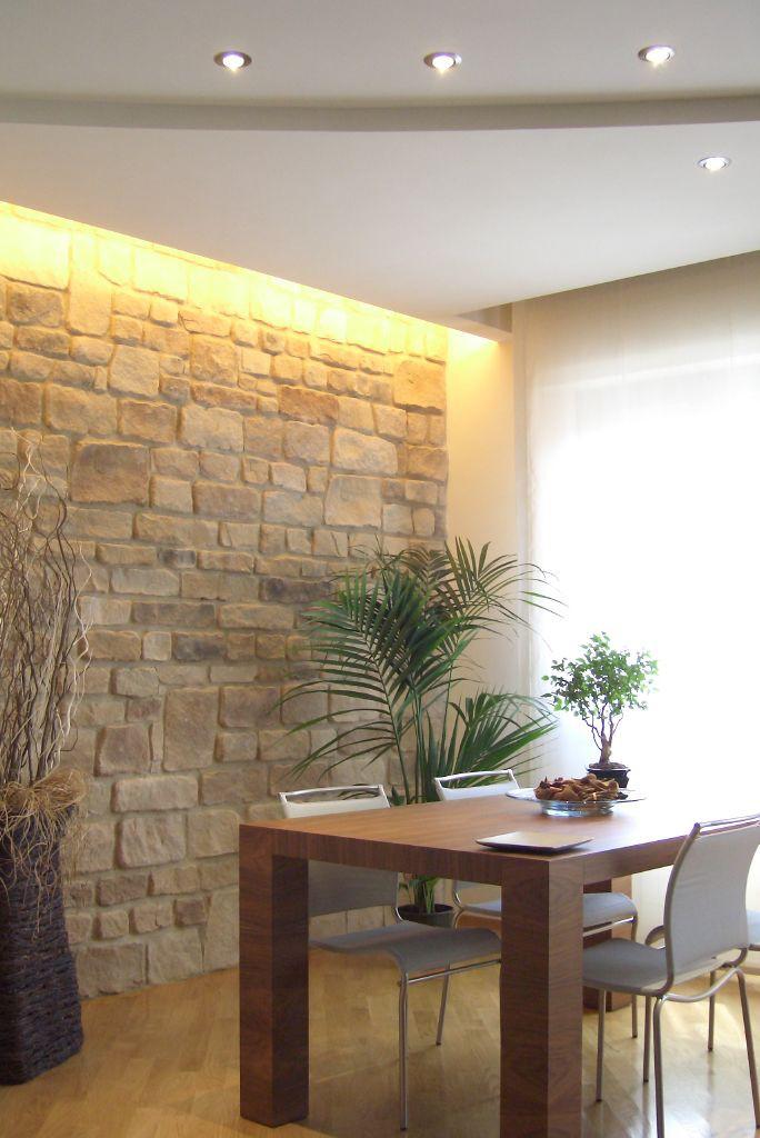 muro in pietra ricostruita