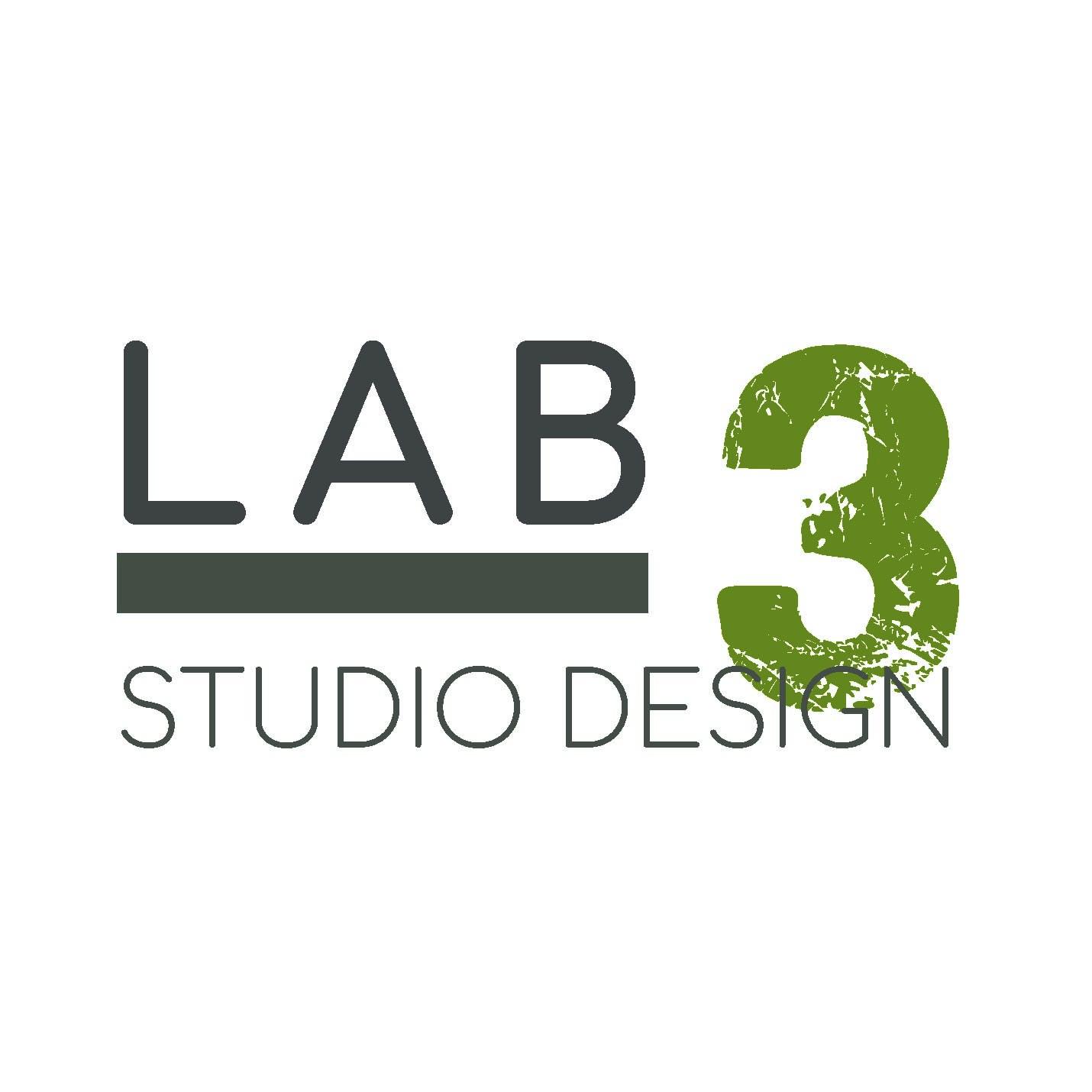 logo LAB 3 Studio Design
