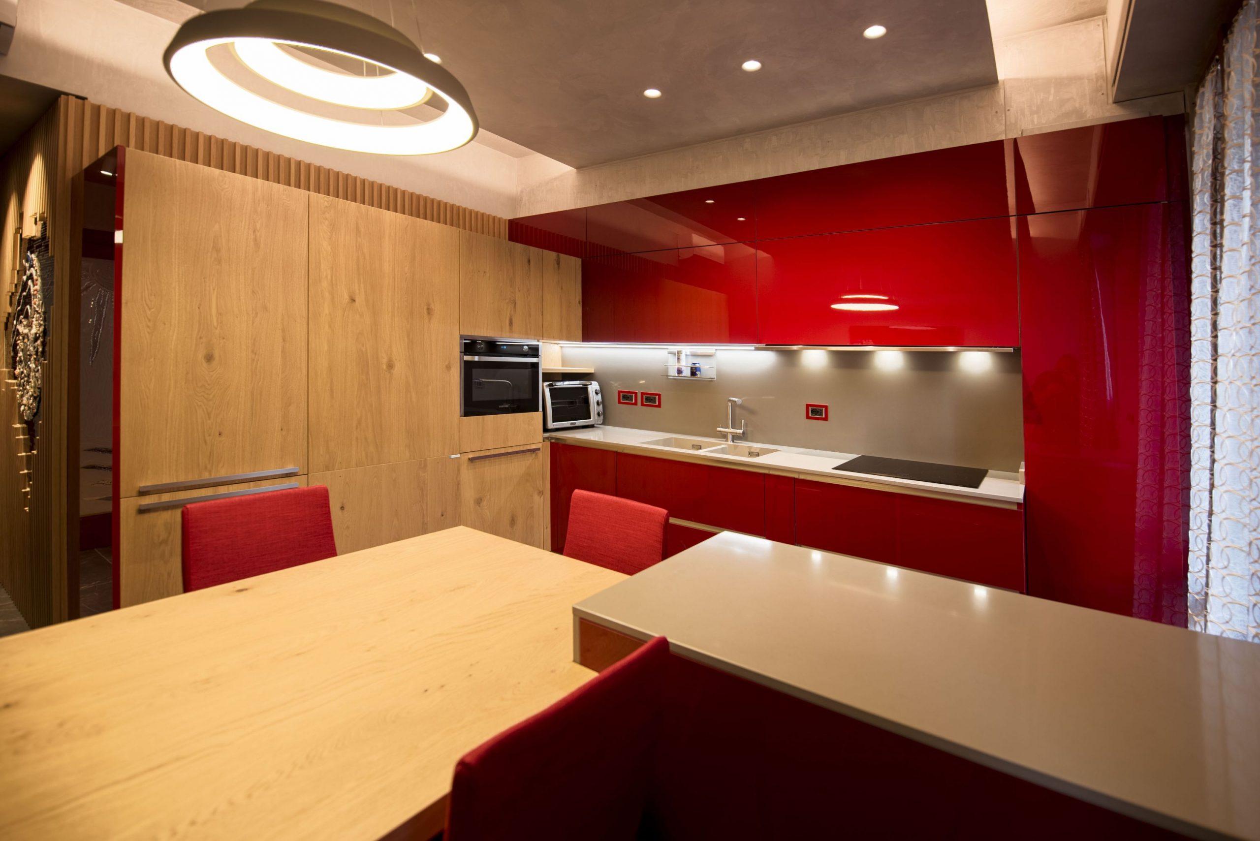 la cucina rossa