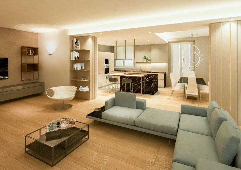 interior design di un open space