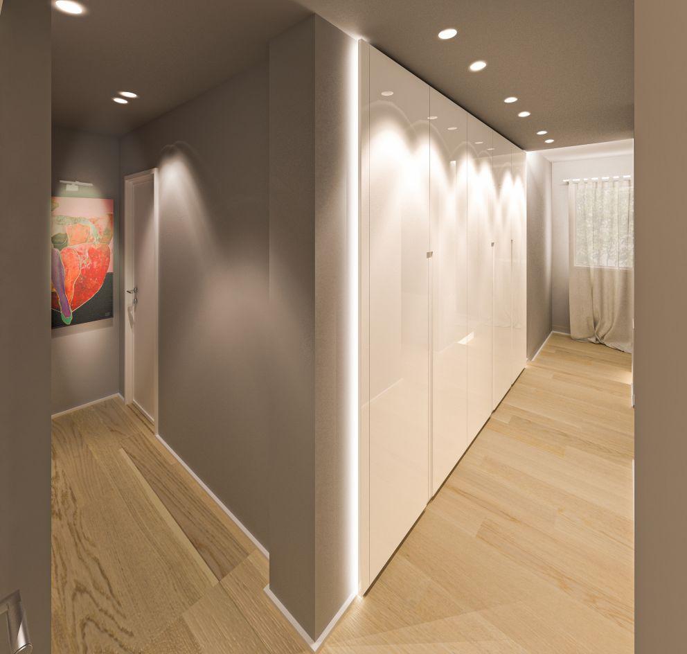 un corridoio personalizzato