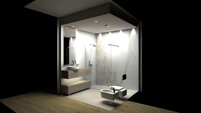 il bagno per la camera