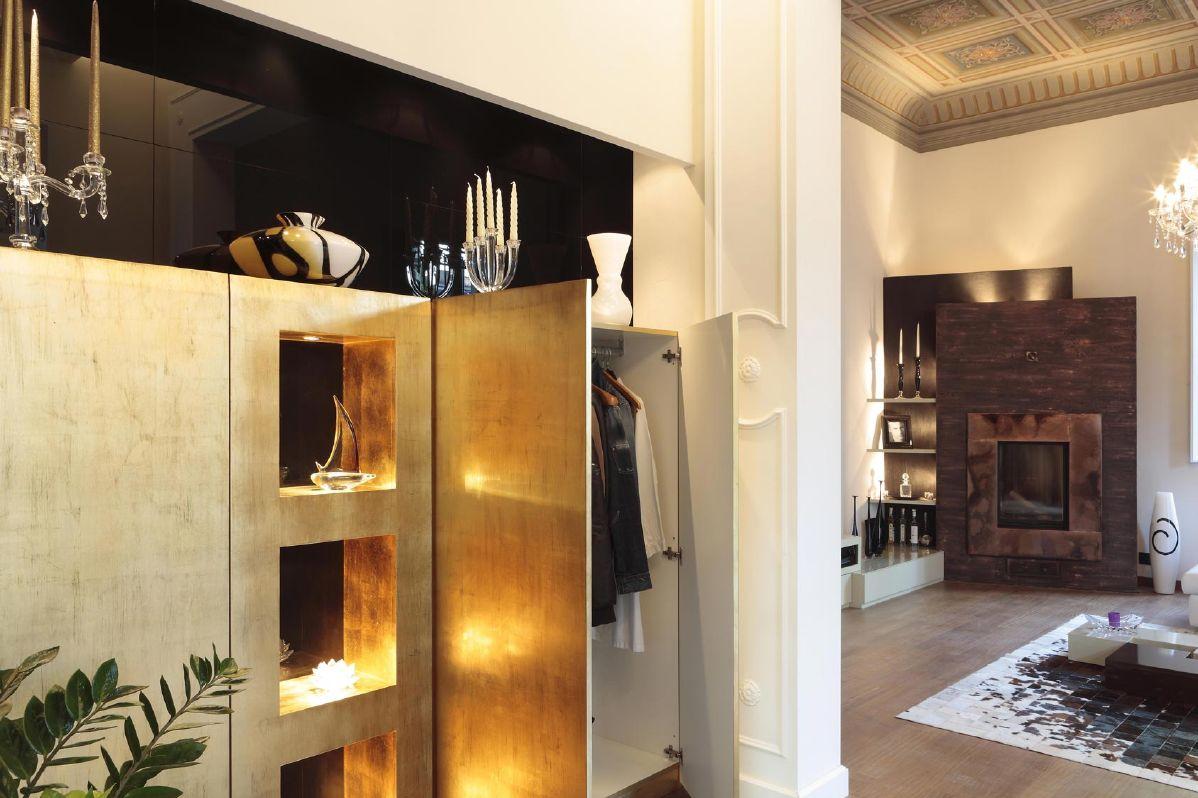 villa Fiorentina, progettazione d'interni.